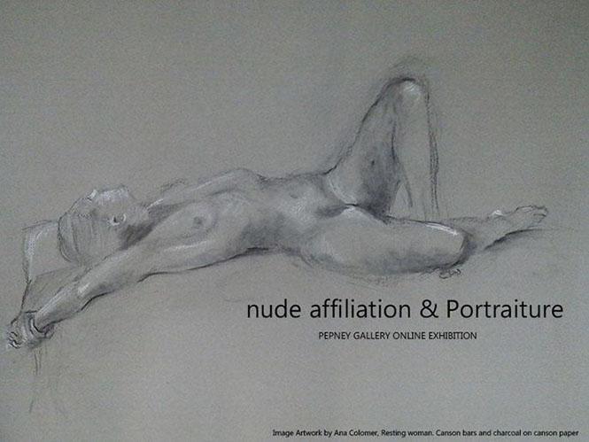 """Συμμετοχή του αποφοίτου της esp+ Κωστή Αργυριάδη στην έκθεση """"nude affiliation & Portraits"""" της Pepney Gallery"""